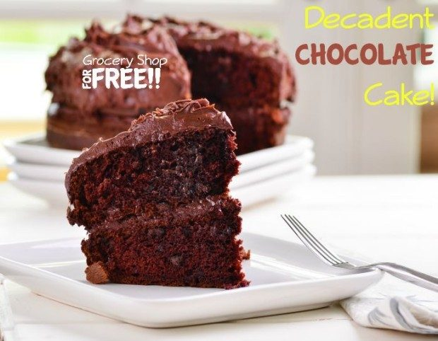 Decadent Chocolate Cake!